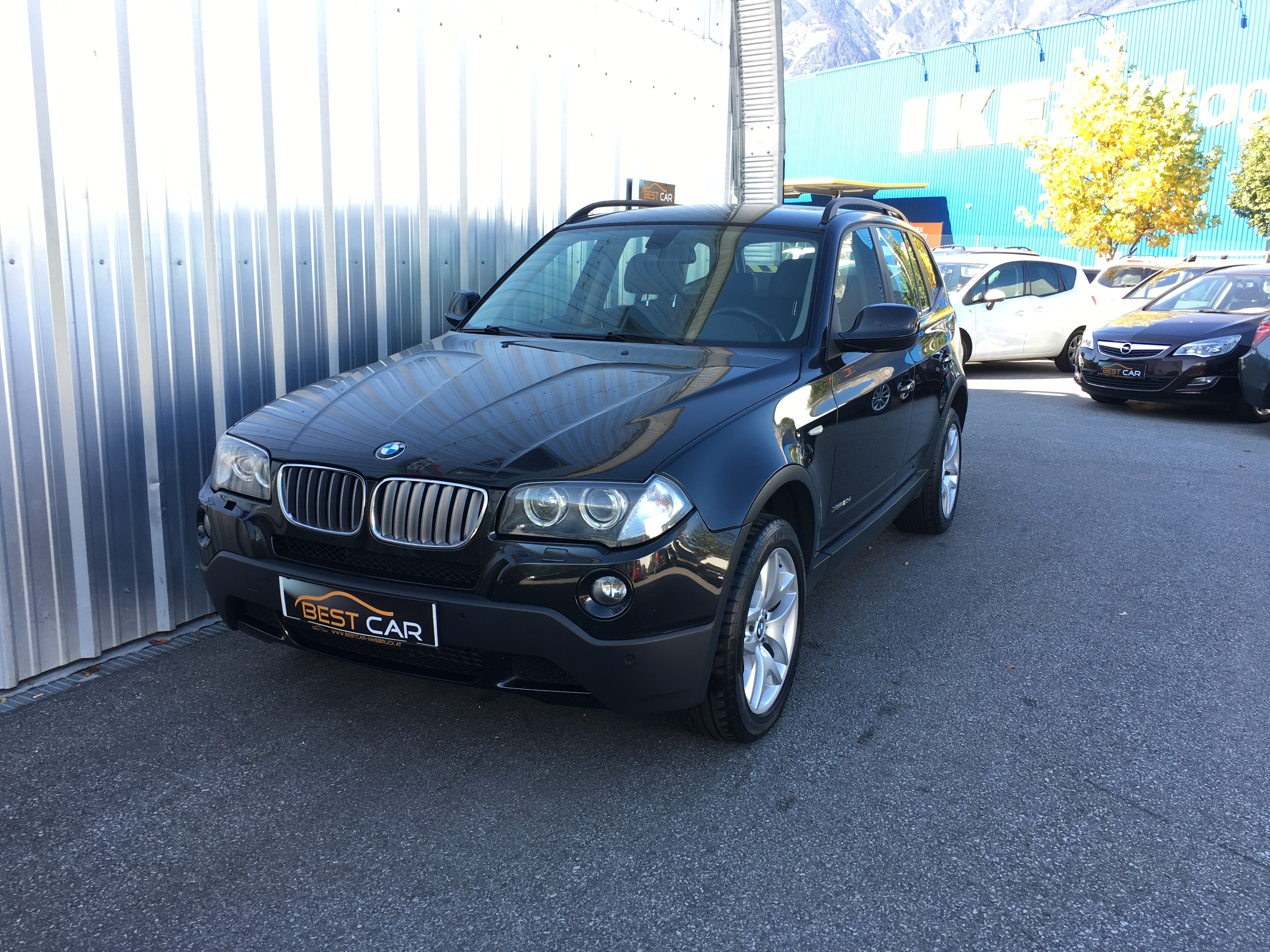 BMW X3 2 0d –sterreich Paket